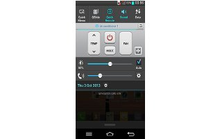 How To Use QuickRemote - LG G Pro 2