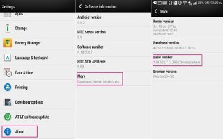 How To Update Software - HTC One M8