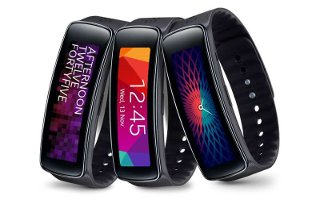 How To Use Stopwatch - Samsung Gear Fit