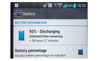 How To Improve Battery Life - LG G Pro 2