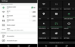 How To Use Airplane Mode - HTC One M8