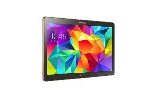 How To Use Camera Settings - Samsung Galaxy Tab S