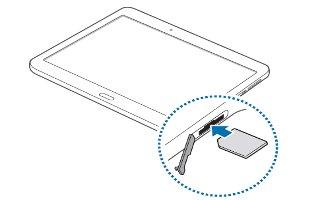How To Insert SIM Card - Samsung Galaxy Tab S