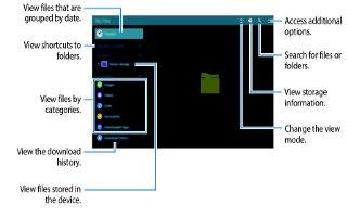 How To Use My Files - Samsung Galaxy Tab S