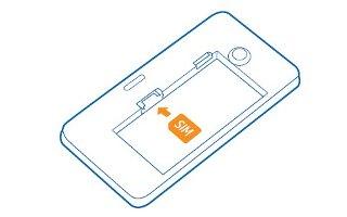 How To Insert SIM Card - Nokia Lumia 630