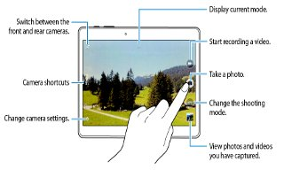 How To Use Video Camera - Samsung Galaxy Tab S