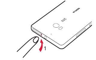 How To Insert SIM Card - Nokia Lumia Icon
