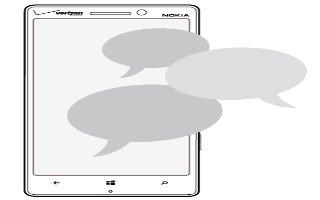 How To Use Messages - Nokia Lumia Icon
