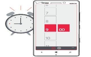 How To Use Alarm - Nokia Lumia Icon
