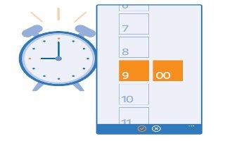 How To Use Alarms - Nokia Lumia 635