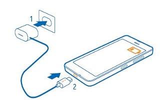 How To Charge - Nokia Lumia 635