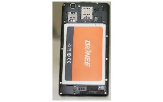 How To Insert And Remove Battery - Gionee M2