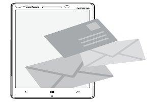 How To Use Email - Nokia Lumia Icon