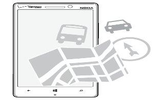 How To Use HERE Map - Nokia Lumia Icon