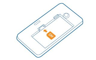 How To Insert SIM Card - Nokia Lumia 635