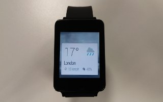 How To Check Weather - LG G Watch