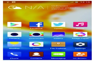 How To Use Home Screen - Gionee Elife E7