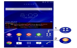 How To Use Shortcuts - Sony Xperia C3 Dual