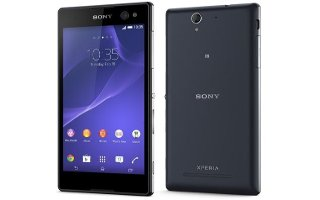 How To Access Settings - Sony Xperia C3 Dual