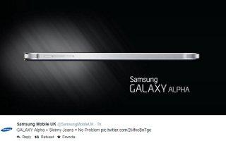 Samsung Hits Apple, Galaxy Alpha Wont Bend