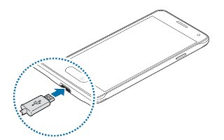 How To Charge Battery - Samsung Galaxy Alpha