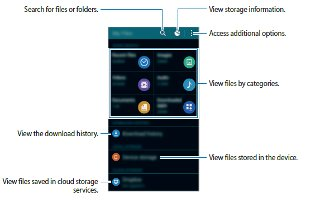 How To Use My Files - Samsung Galaxy Alpha