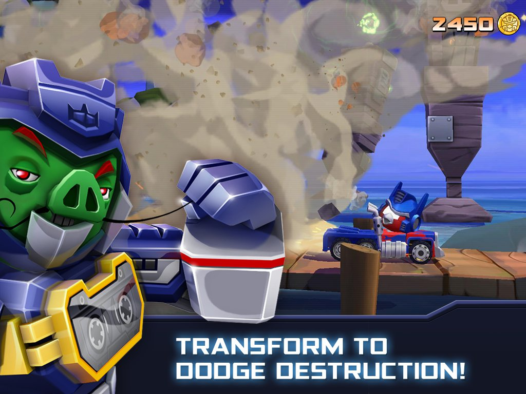 Angry Birds Transformers Now Available On Play Store