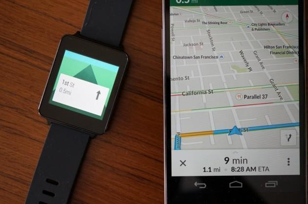 Google Maps Gets Update, Improved Android Wear Notifications