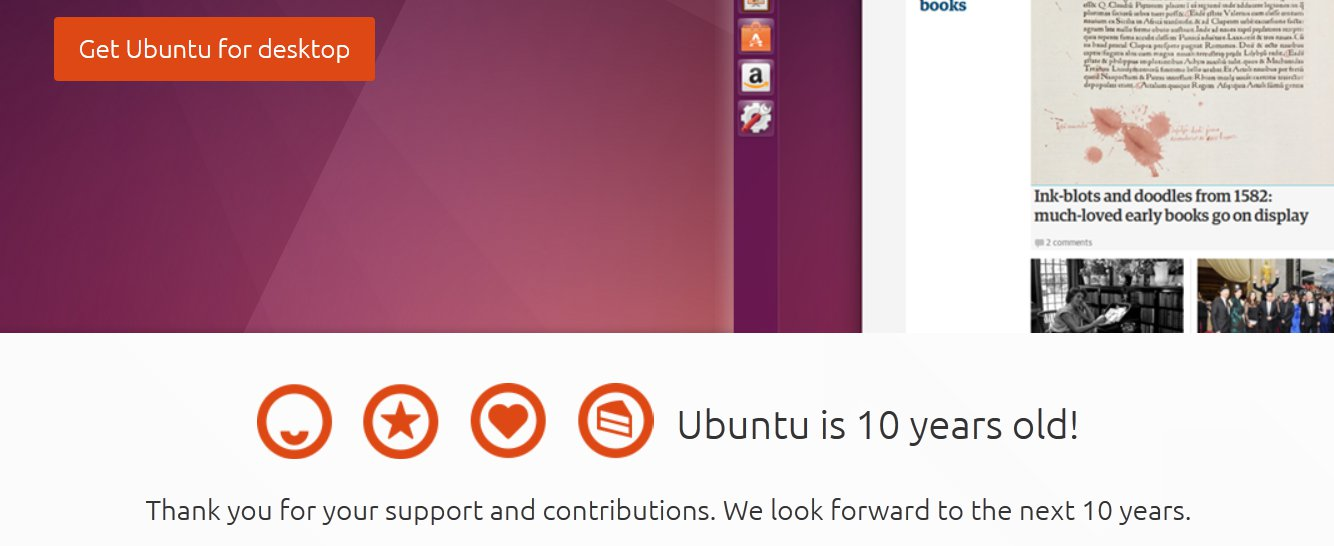 Ubuntu Turns 10 With Its Latest Utopic Unicorn Release