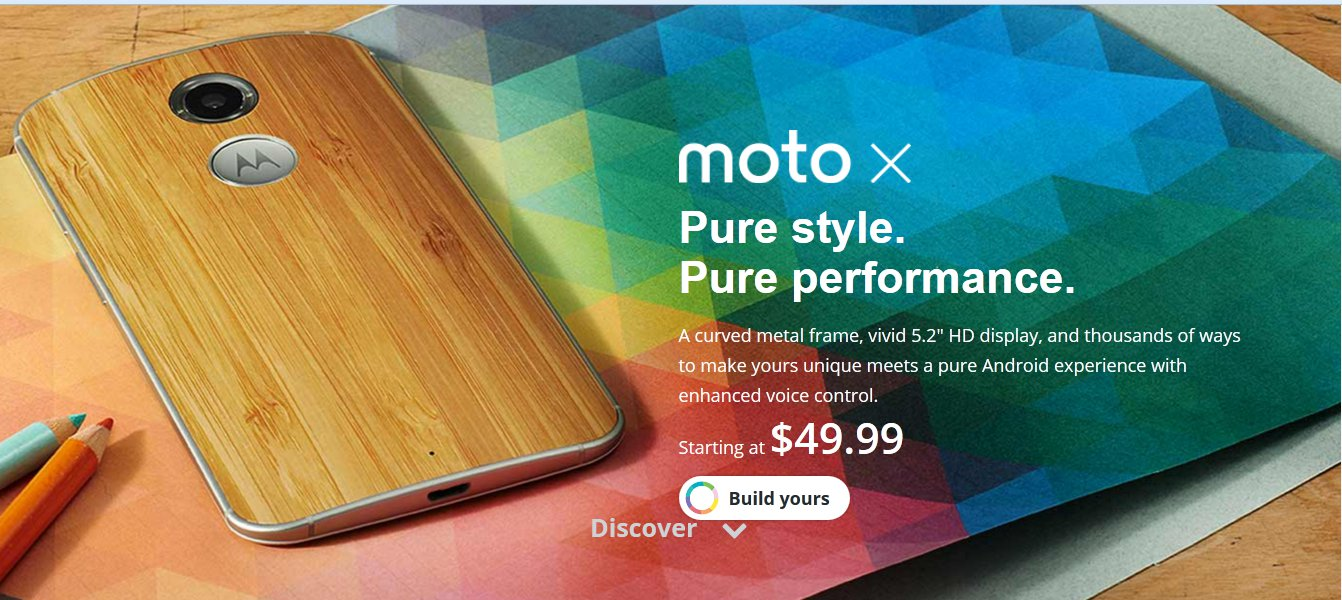 Verizon Moto X 2014 Now On Sale For Just $50