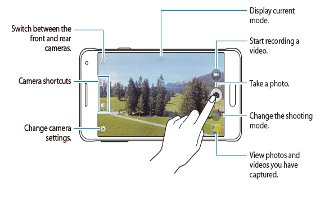 How To Use Camera - Samsung Galaxy Alpha