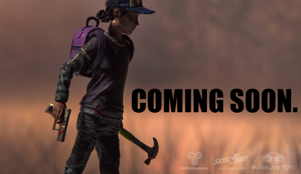 The Walking Dead Game's Clementine Action Figure Announced