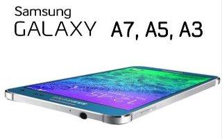 Samsung Galaxy A5 Launch In Nov, Galaxy A7 Details Leak