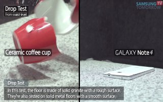 Samsung Does Drop Test On Galaxy Note 4