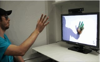 Kinect For Windows Can Track Finger Movements