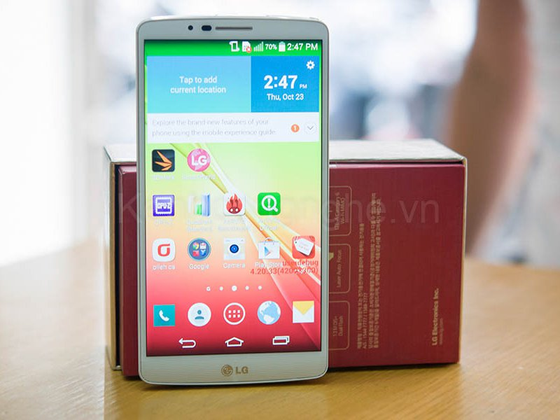 Leaked LG Liger Could Launch As LG G3 Screen