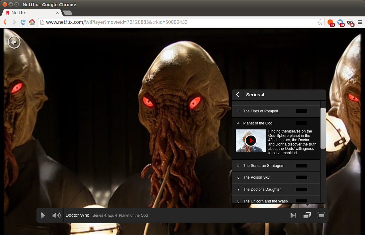 Ubuntu Can Stream Netflix Videos Via Chrome