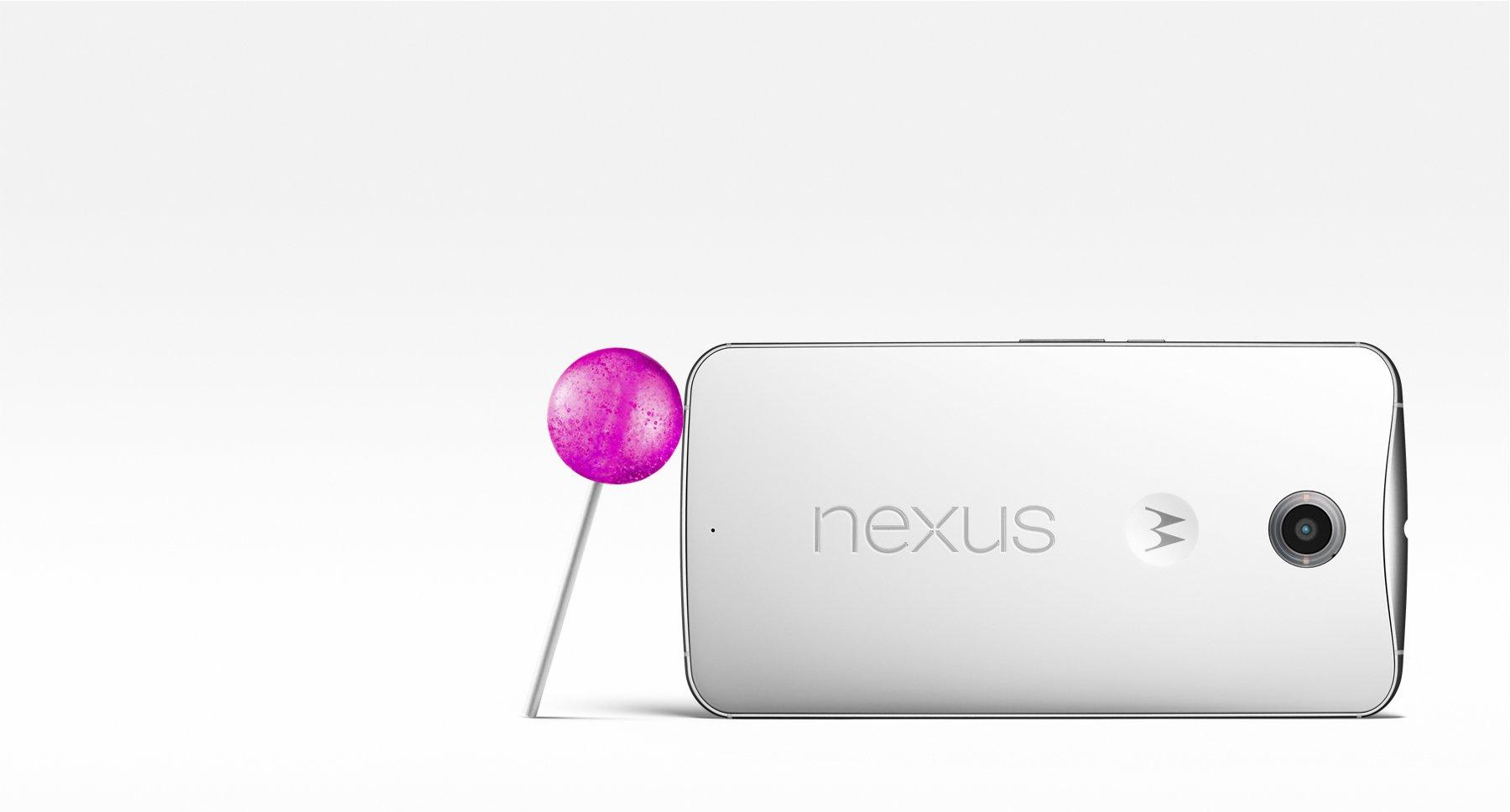 Google Unveils Nexus 6 With Lollipop