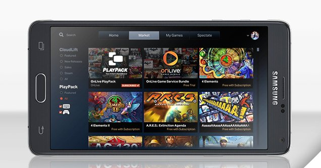 Galaxy Note 4 Users Get 3 Months Free Of OnLive Gaming