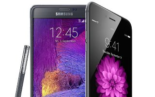 Samsung Galaxy Note 4 Peeforming Poor Than Apple iPhone 6 Plus