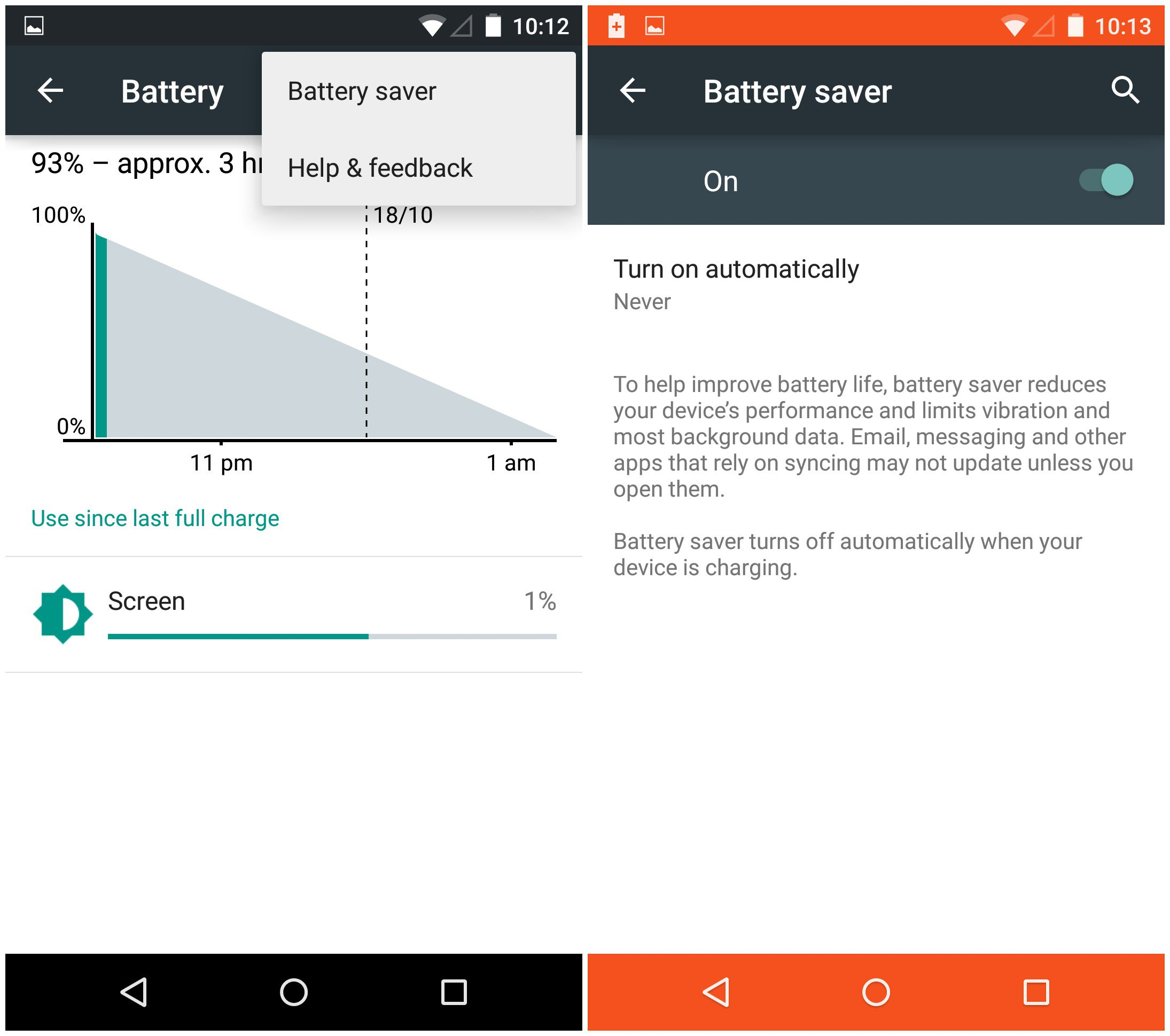 How To Use Battery Saver On Android 5.0 Lollipop