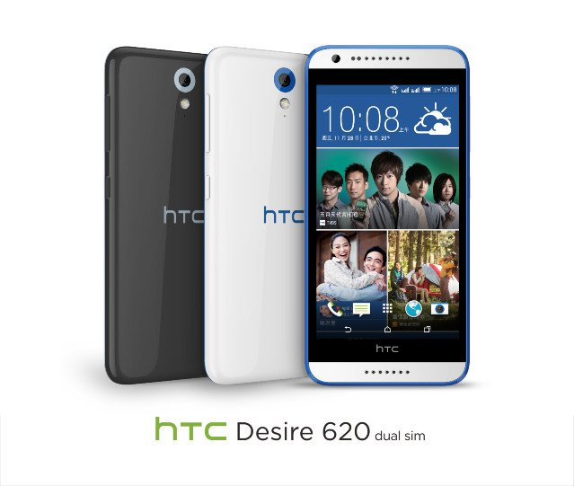 HTC Launches Dual SIM Desire 620 And Desire 620 G Android Smartphones
