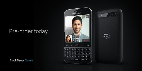 Blackberry Classic Pre-Orders Now Open