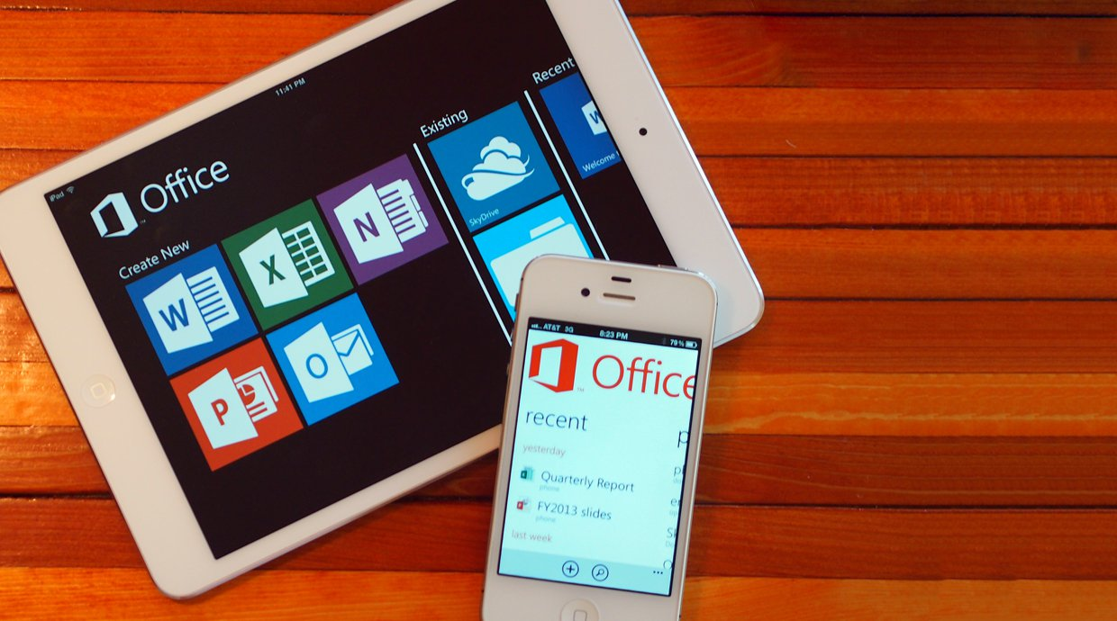 Free Microsoft Office Apps Hits iOS And Android