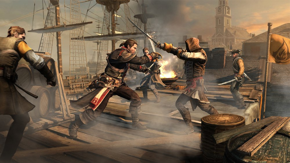 Assassin's Creed Rogue New Launch Trailer