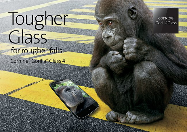 Corning Unveils New Gorilla Glass 4