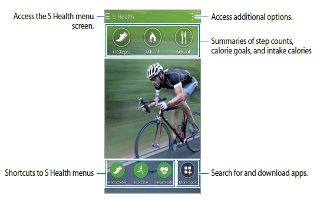 How To Use S Health Settings - Samsung Galaxy Alpha