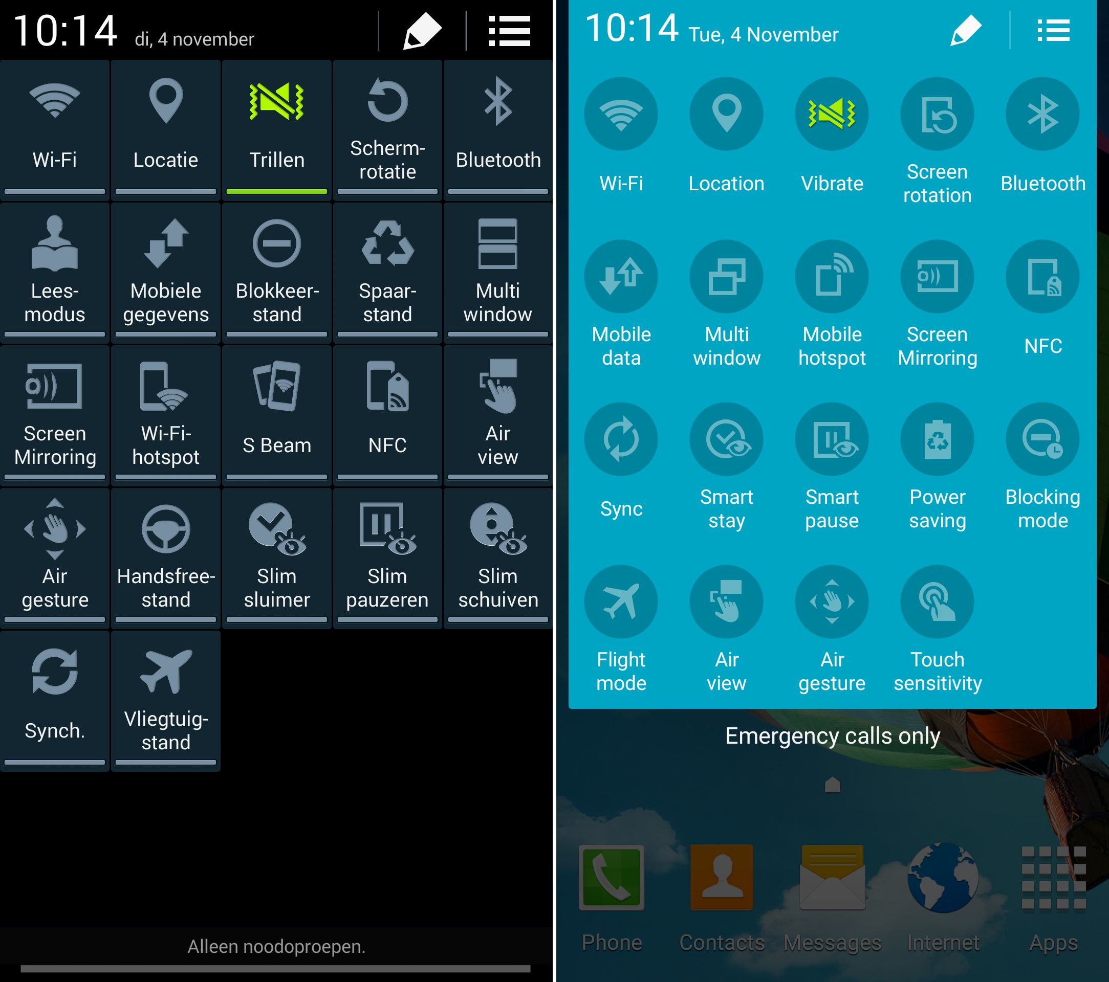 Android 5.0 Lollipop Leaks For Sprint Galaxy S5