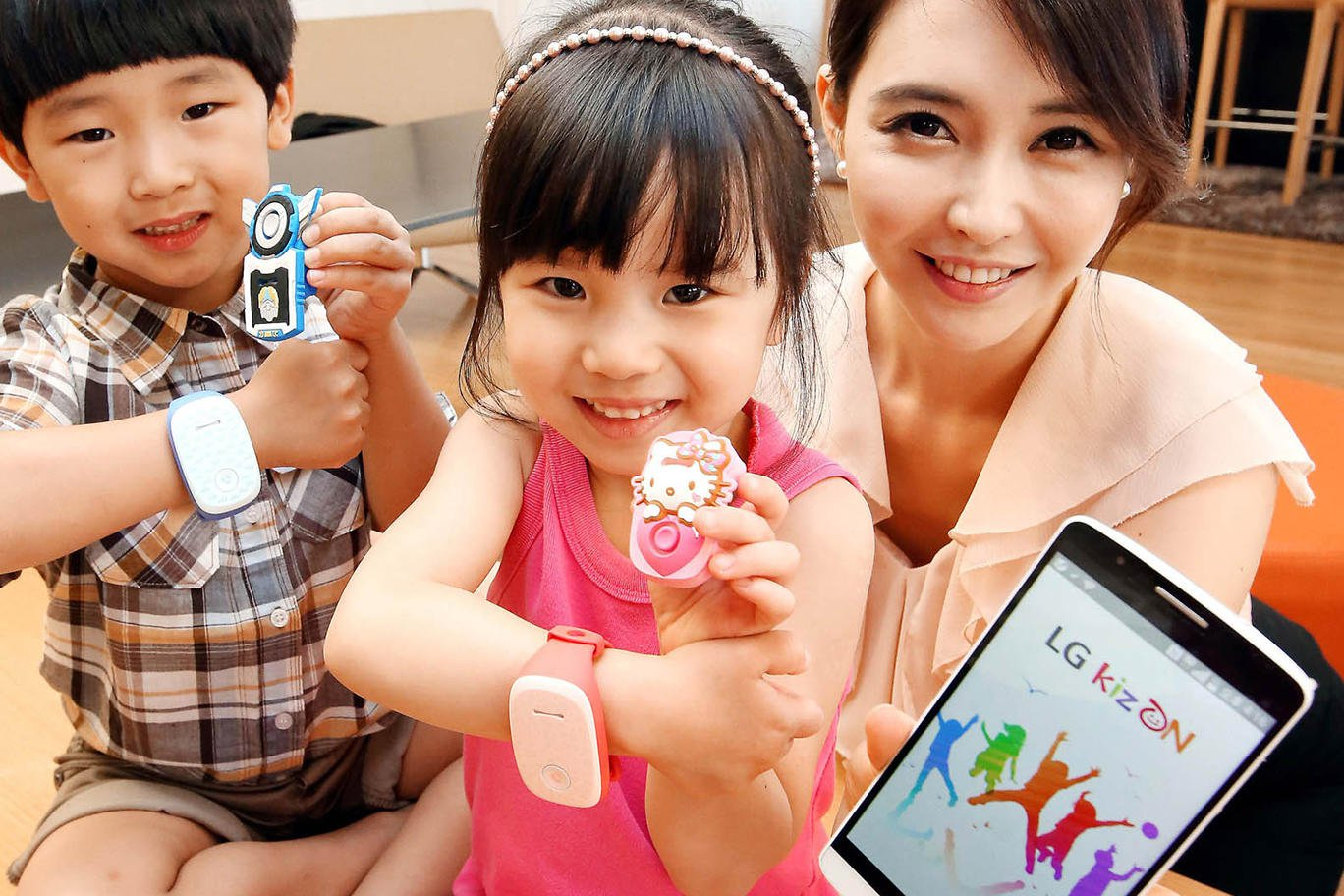 LG Introduces KizON Wearable For Kids