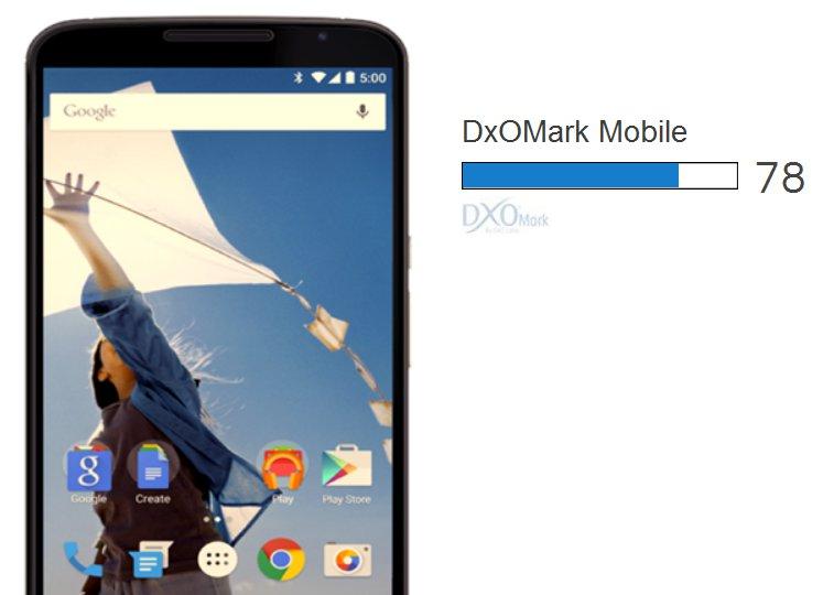 Nexus 6 Enter DxOMark Top 10 For Camera